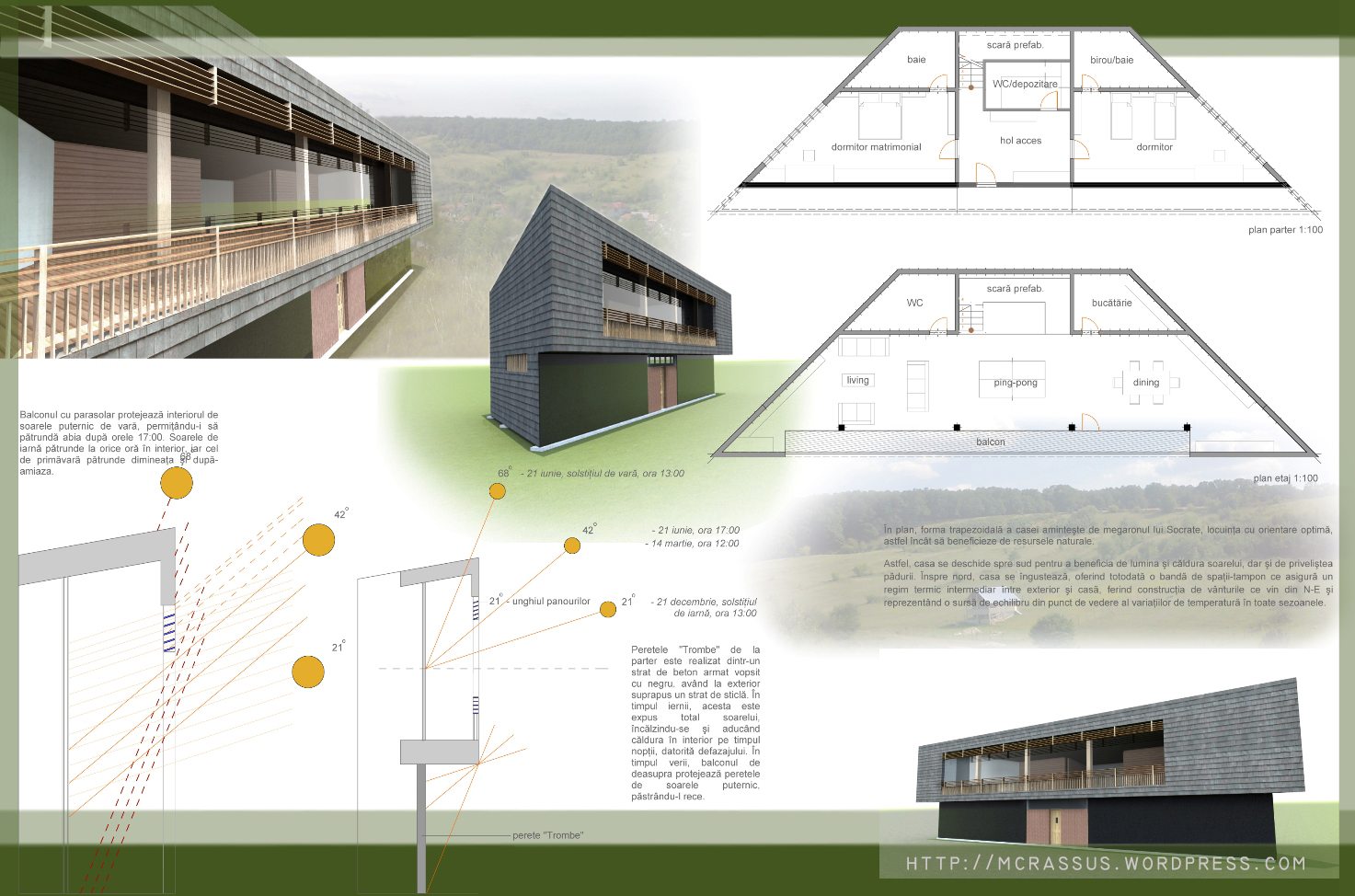 Passive house modern socrates megaron mcrassus art for Energy house