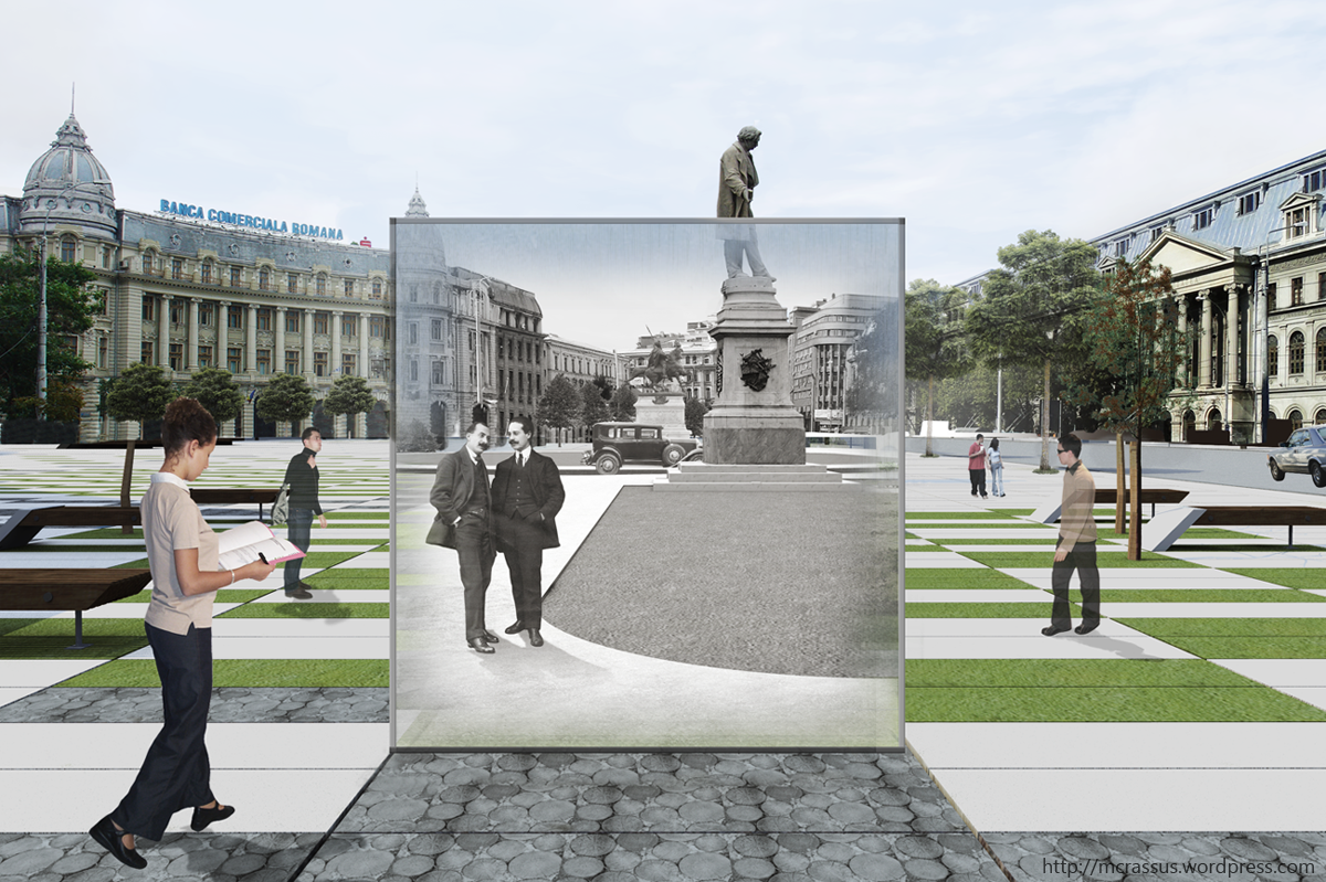 Bucharest university square 8 th place mcrassus art - Very small space of time image ...