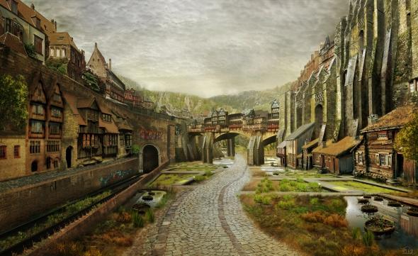Daggerfall Breton Utopia