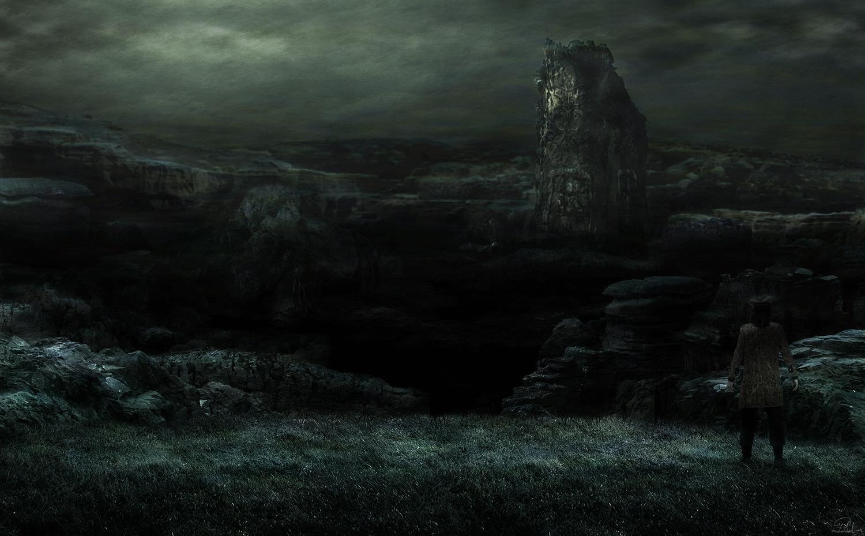 Hp Lovecraft Art Wallpapers: Dagon's Canyon, H. P. Lovecraft – Concept Art
