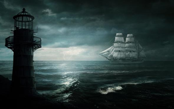 The White Ship SMALL