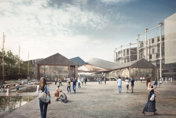 Kings Cross Coal Drops Yard